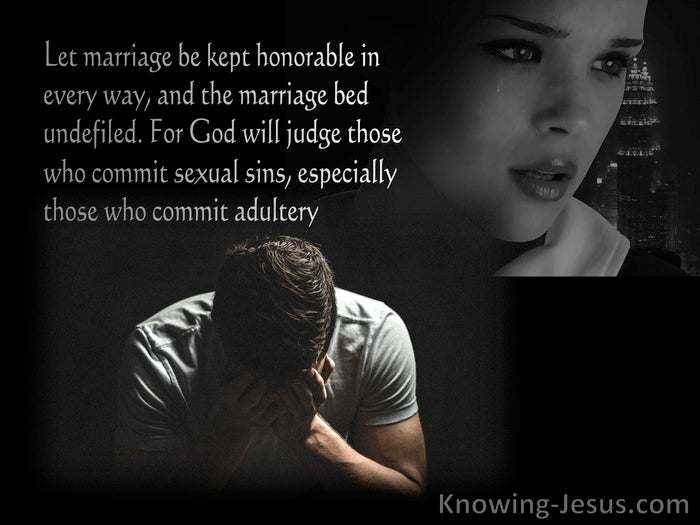 Prayers for Adultery