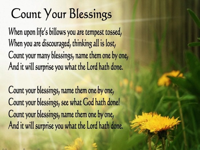 Prayers of Blessings