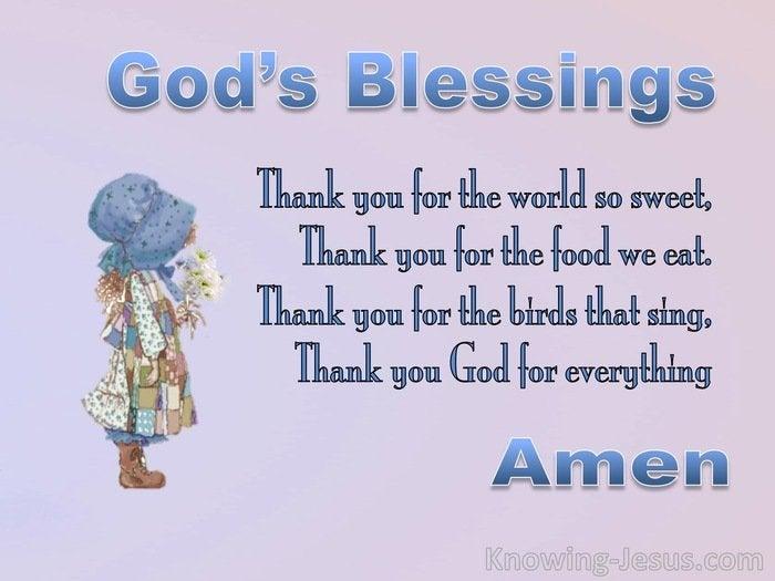 Prayers Of Blessings