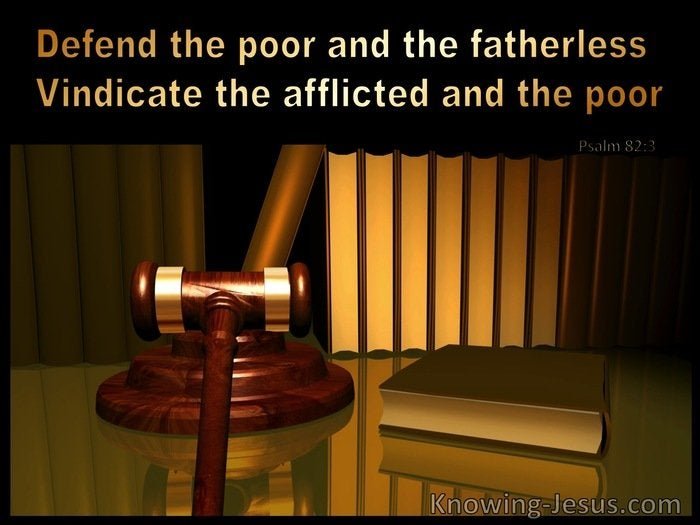 Prayer for Court Cases