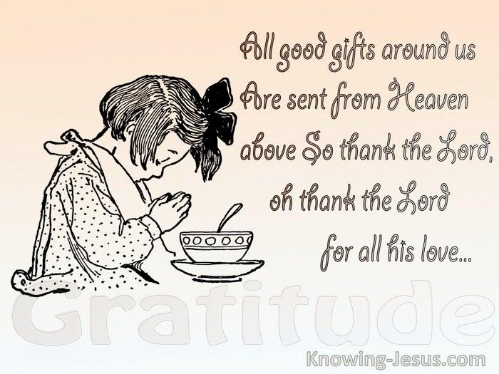 Prayers for Gratitude