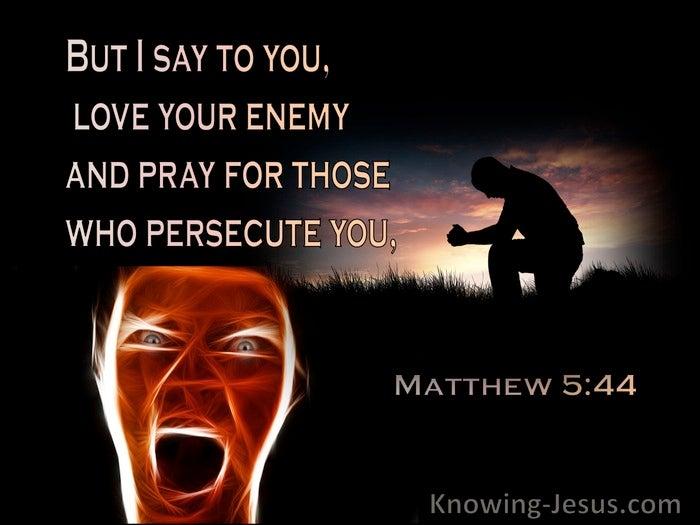 Prayers for My Enemies