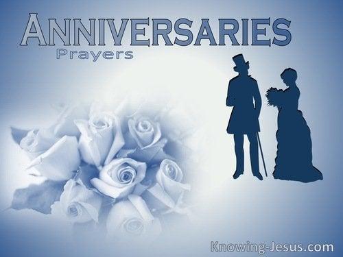 Prayers For Anniversaries