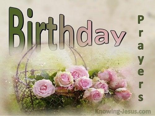 Happy Birthday Christian Prayer