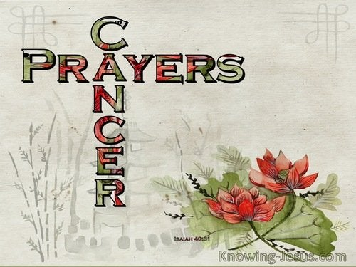 Prayers for Cancer