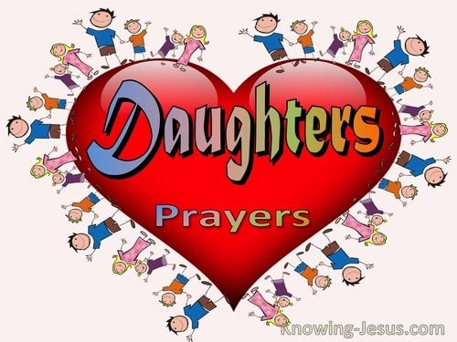 Prayers for Daughters