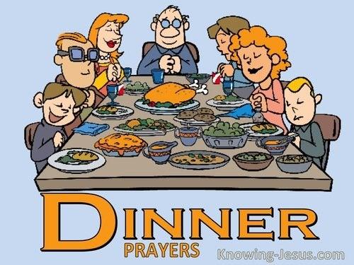 Prayers for Dinner