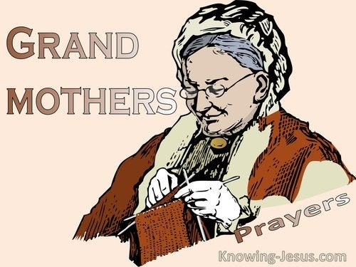 Prayers For Grandmothers
