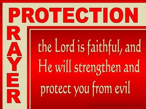 Prayers for Protection